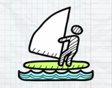 Senyal de surf de vela